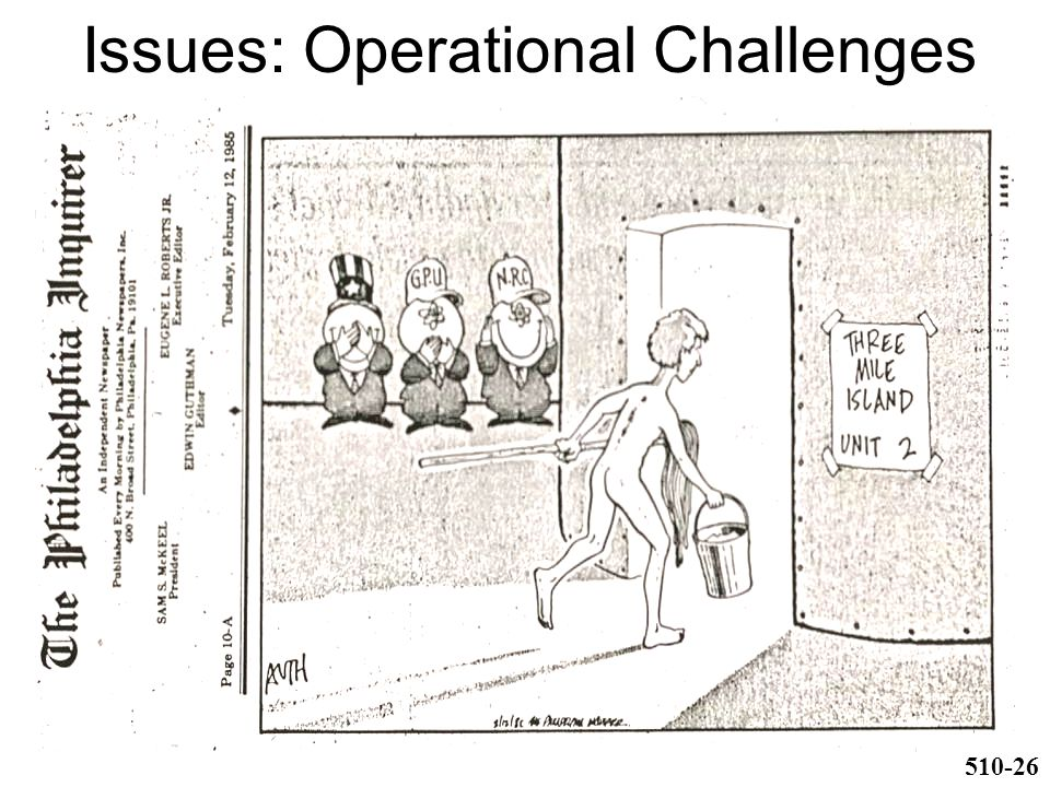 Issues: Operational Challenges 510-26