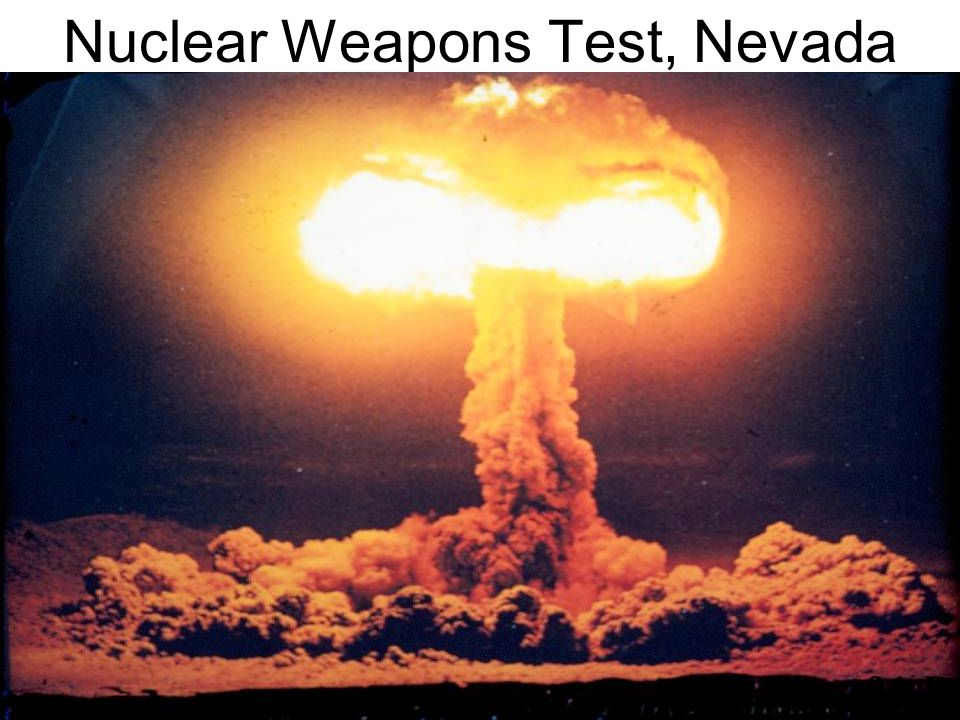 Nuclear Weapons Test, Nevada 91-B