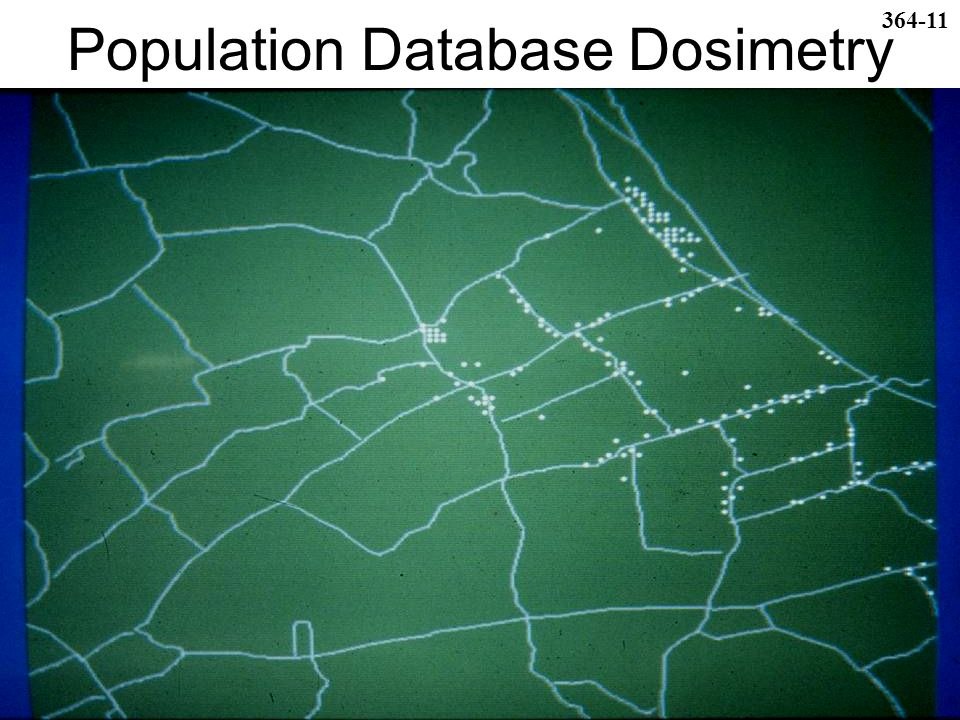 Population Database Dosimetry 364-11
