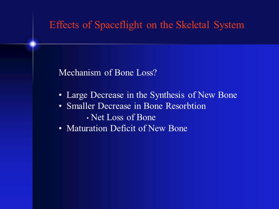 Mechanism of Bone Loss.