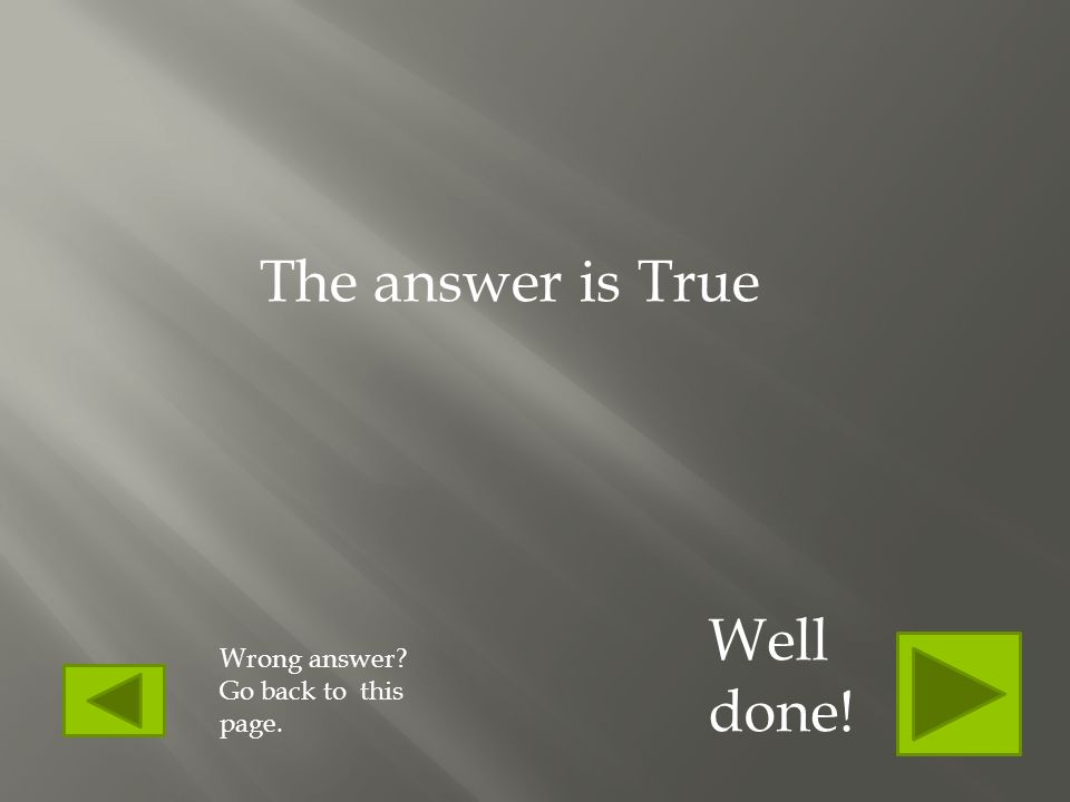 True or false Each paragraph is for one main idea. Click to find the answer