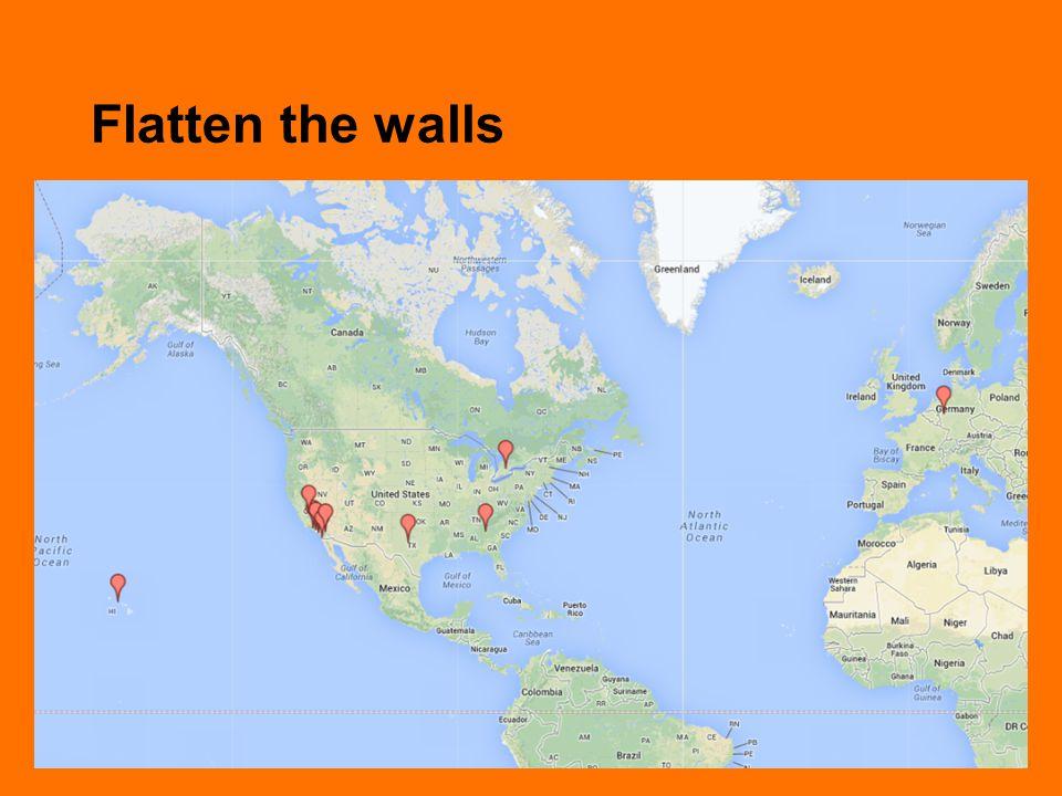 Flatten the walls