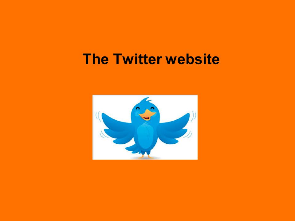 The Twitter website