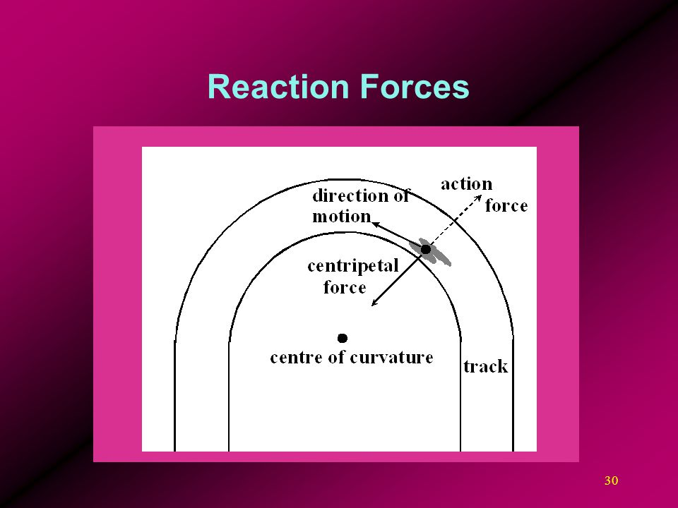 30 Reaction Forces