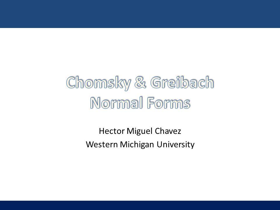 Hector Miguel Chavez Western Michigan University