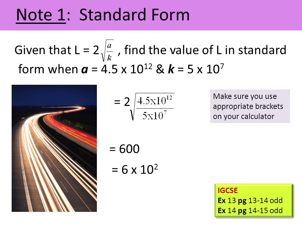 Note 2: Ratio and Proportion The word 'ratio' is used to describe a fraction.