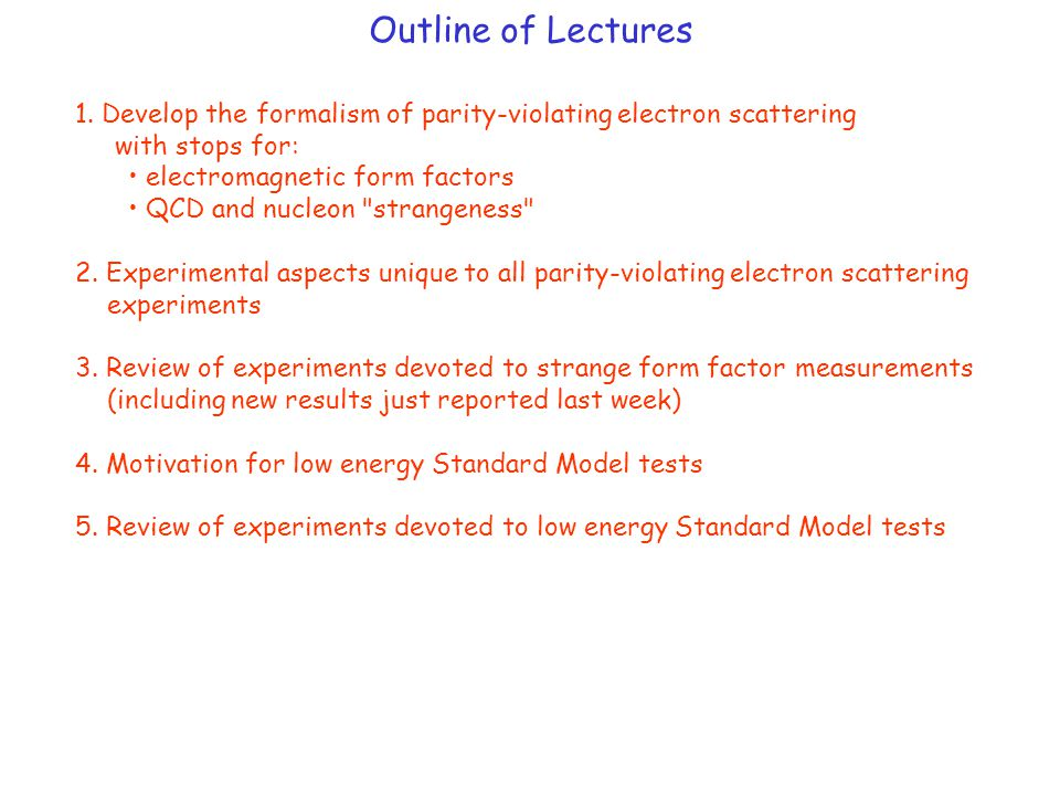 Electromagnetic e- p Elastic Scattering From the Feynman rules, the matrix element is: But the proton (unlike the electron) is not a point-like Dirac particle (need to introduce form factors to characterize its structure):  Dirac  Pauli Another way to write the form factors is the Sachs definition: The cross section for e-p elastic scattering is then given as: (Rosenbluth formula)
