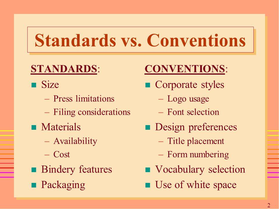 2929 Standards vs.