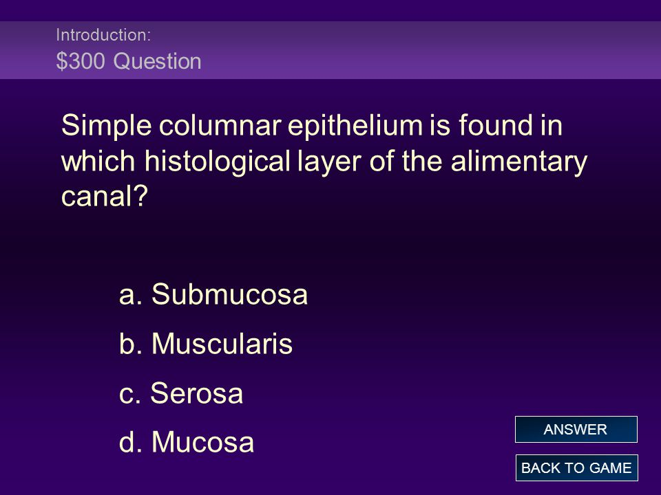 Chemical Digestion and Absorption: $300 Answer Which of the following is not an enzyme.