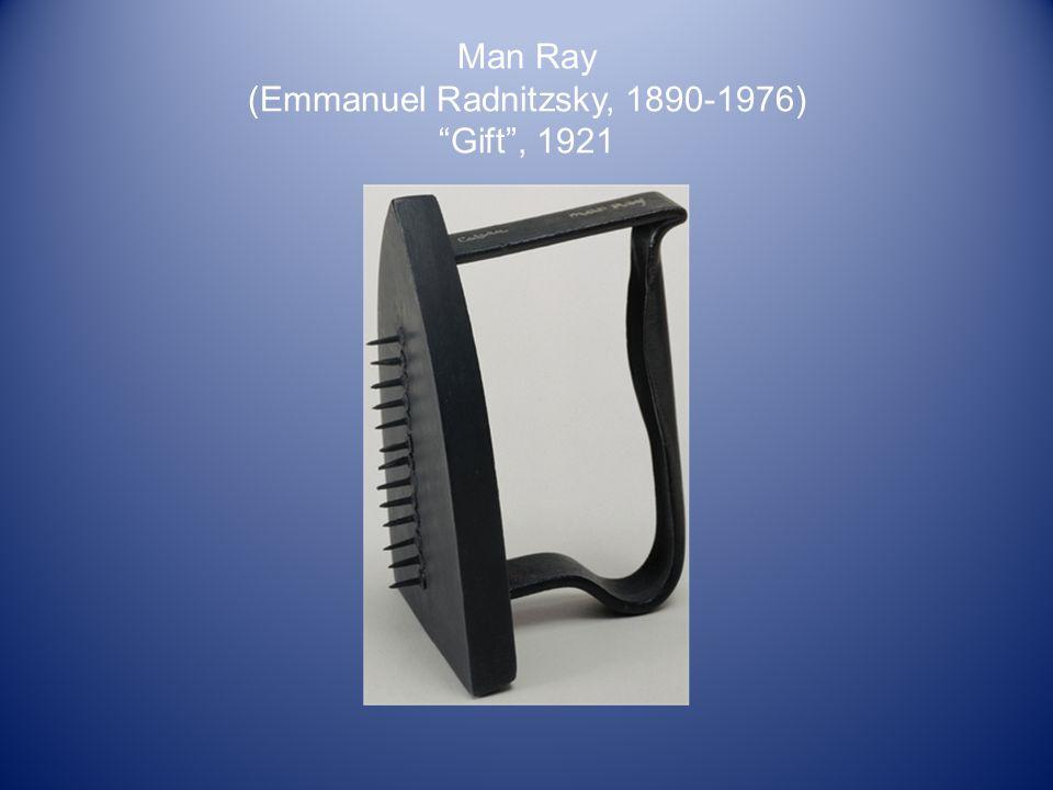 Man Ray (Emmanuel Radnitzsky, 1890-1976) Gift , 1921