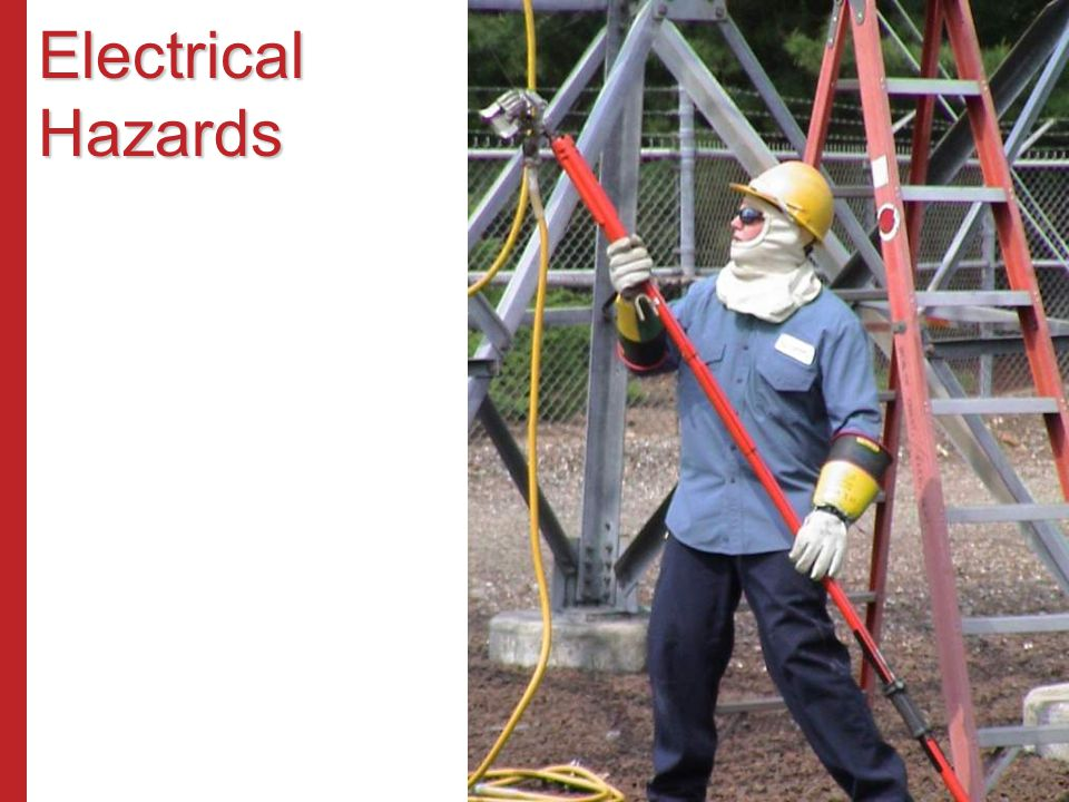Maintain Safe Working Clearance All equipment – ladders, scaffolds, cranes, trucks, forklifts, etc.