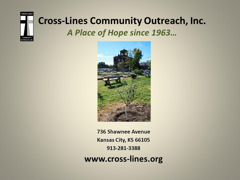 Cross-Lines Community Outreach, Inc.