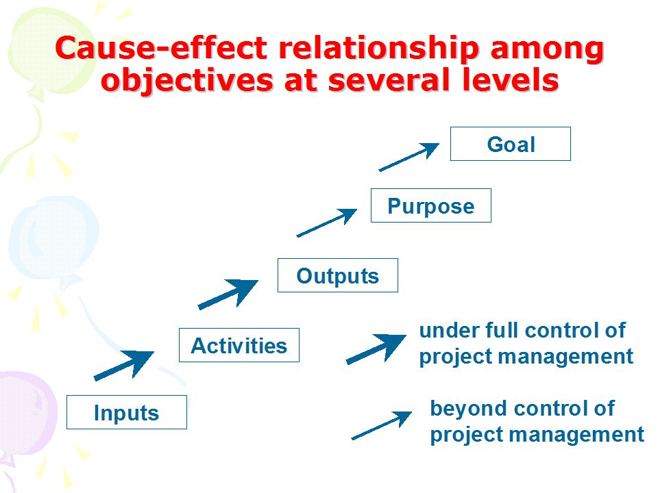 THE LOGIC OF A PROGRAMME: A SET OF LINKED HYPOTHESES GOAL PURPOSE ACTIVITIES OUTPUTS if then if then if