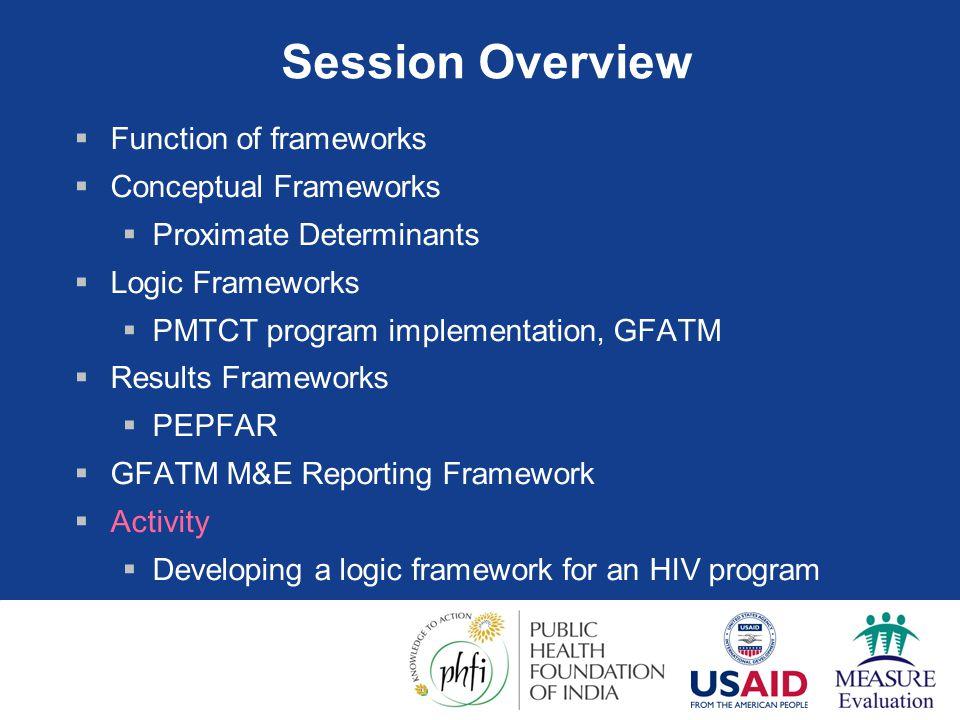Logic Framework Example: PMTCT Program 1  Problem Statement  HIV rates rising in pregnant women & infants in Thailand.