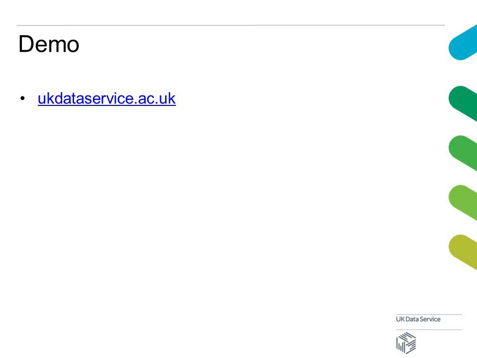 Demo ukdataservice.ac.uk