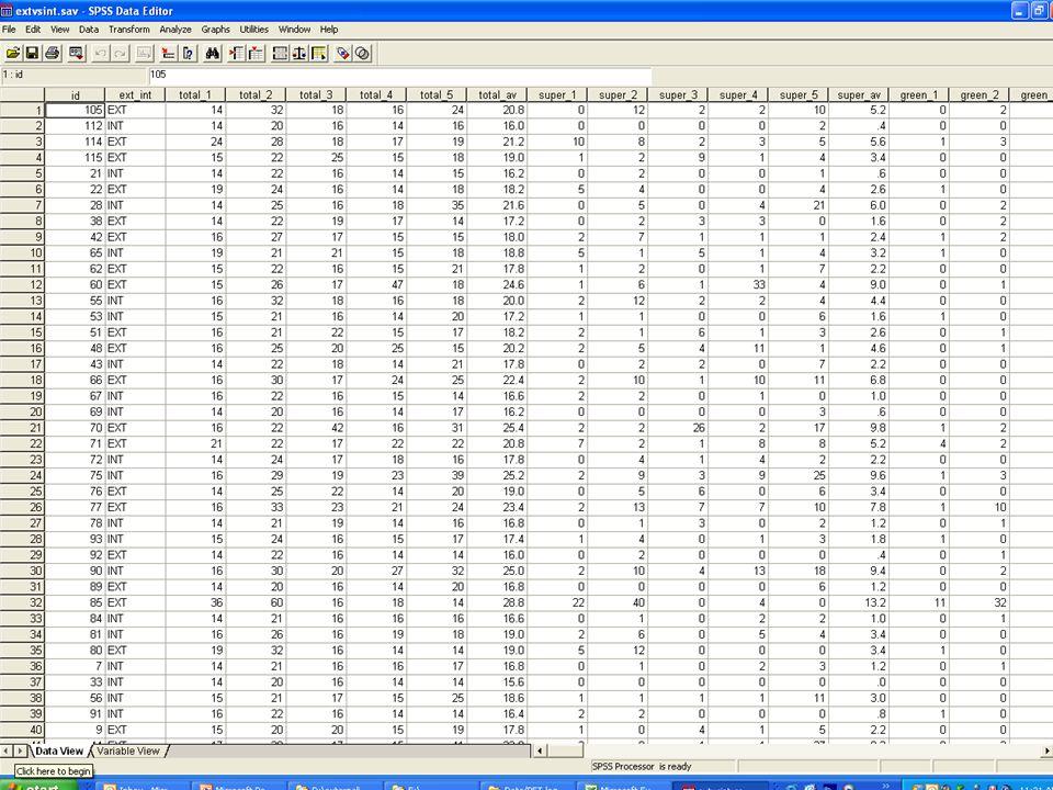UEM College 9 mei, 2006 Data (stap 1) 1. CSV-file van NFC scoresNFC 2. CSV-file van taken (raw data)taken 3. Ingevulde korte (papieren) eind-vragenlij