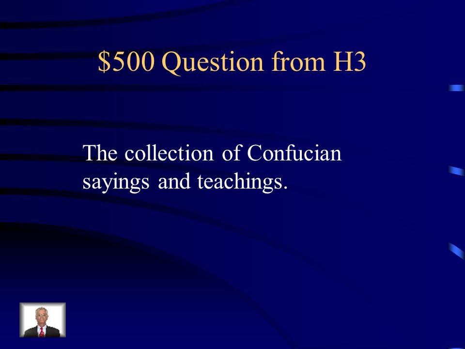 $400 Answer from H3 What are The Warring States Period