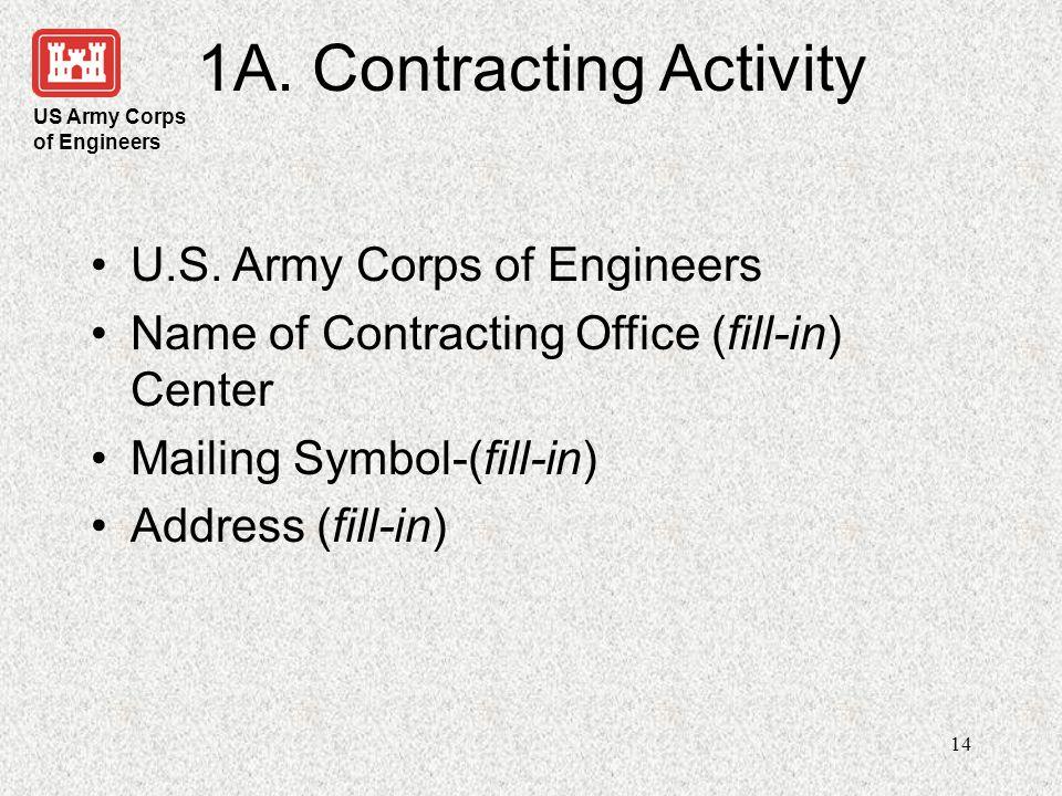 US Army Corps of Engineers 15 1B.