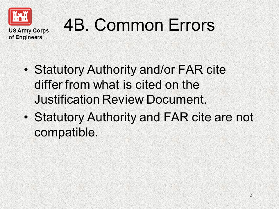 US Army Corps of Engineers 22 5A.