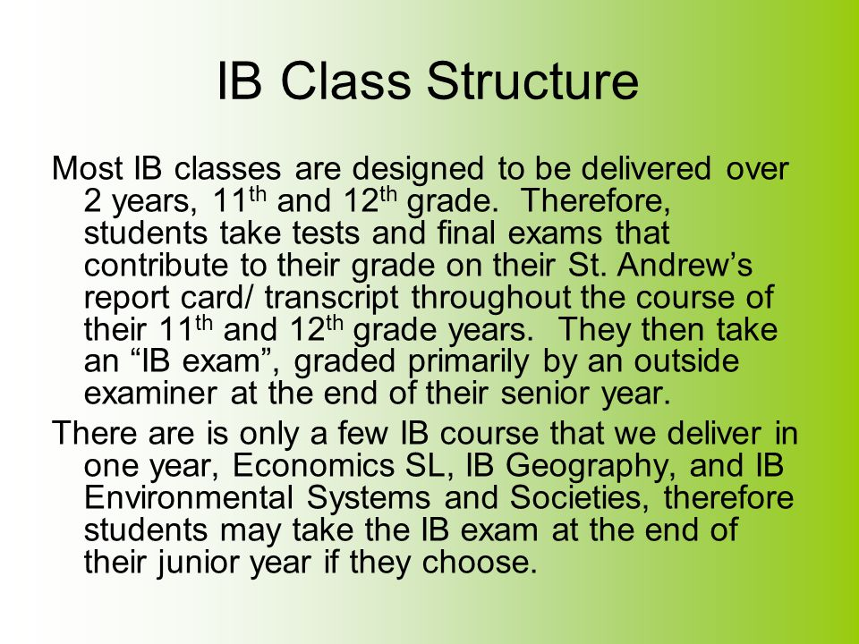 General Regulations for Authorized Schools Each IB school is required to share the document entitled General Regulations for Authorized Schools.