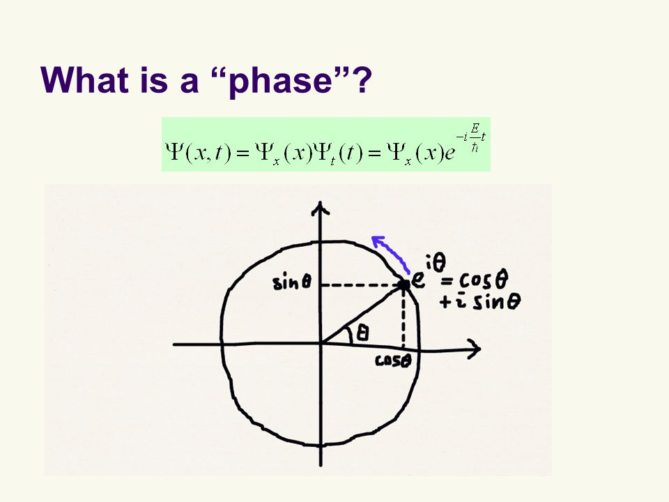 What is a phase ?