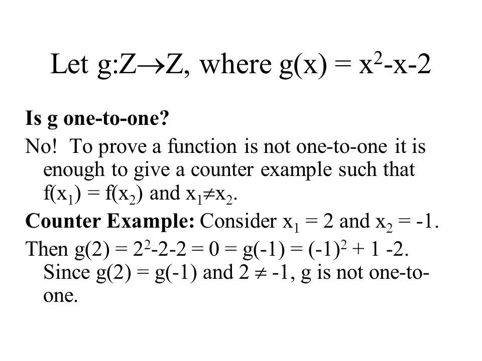 Define g(a,b) = (a-b, a+b) Prove that g is one-to-one.