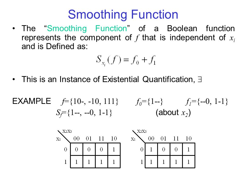 Unateness Single-Rail Logic to Mininize Pins and Interconnect f is positive unate in a dependent variable x i if x i does not appear in the sum-of-products representation f is negative unate in a dependent variable x i if x i does not appear in the sum-of-products representation f is vacuous in a dependent variable x i if neither x i nor x i appears in the sum-of-products representation (otherwise it is essential ) f is mixed or binate in variable x i if it is not possible to write a sum-of-products representation in which x i or x do not appear