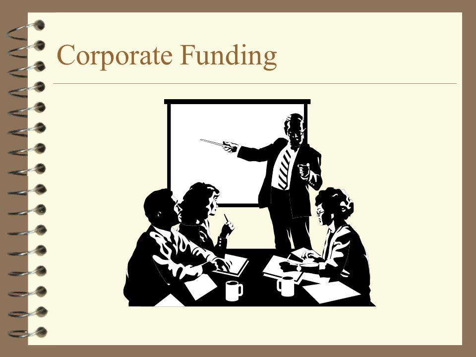 Corporate Funding