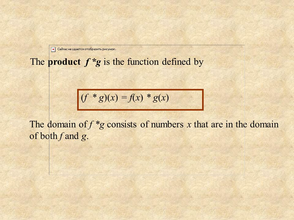 The difference f - g is the function defined by (f - g)(x) = f(x) - g(x) The domain of f - g consists of numbers x that are in the domain of both f an