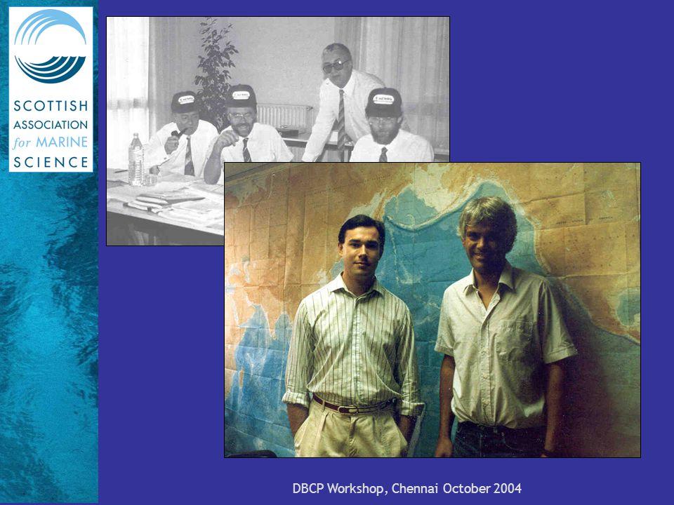 DBCP Workshop, Chennai October 2004