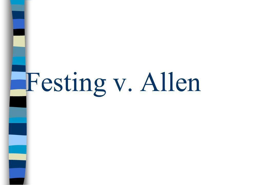 Festing v. Allen