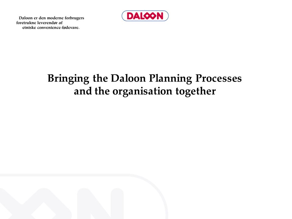 Agenda Welcome Agenda History Planning Process Why Sales Forecast.