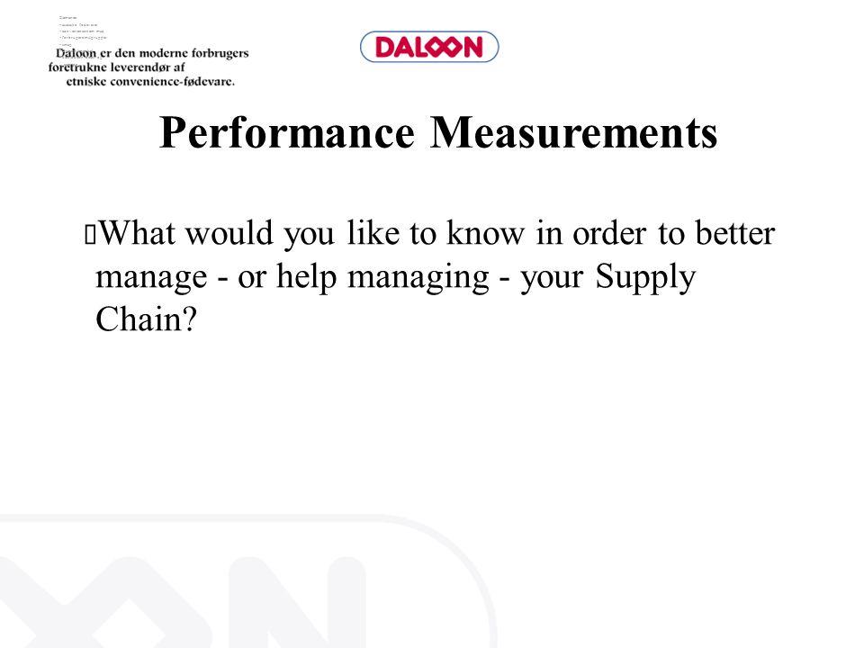 Elementer:  asiatiske fødevarer  convenience/nem mad  forbrugere/målgrupper  smag  Daloon (mærke)  distribution detail og catering Performance M