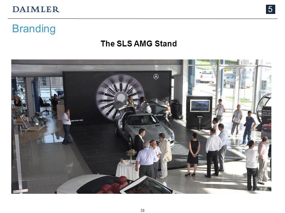 38 5 Branding The SLS AMG Stand