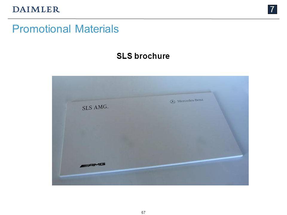 67 7 Promotional Materials SLS brochure