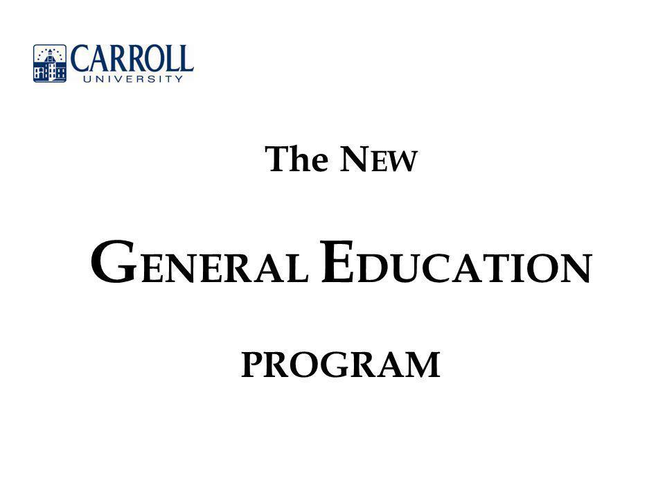 General Education Gen Ed Components 32 total credits Distribution Component20 credits.