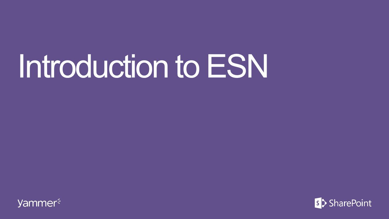 Introduction to ESN