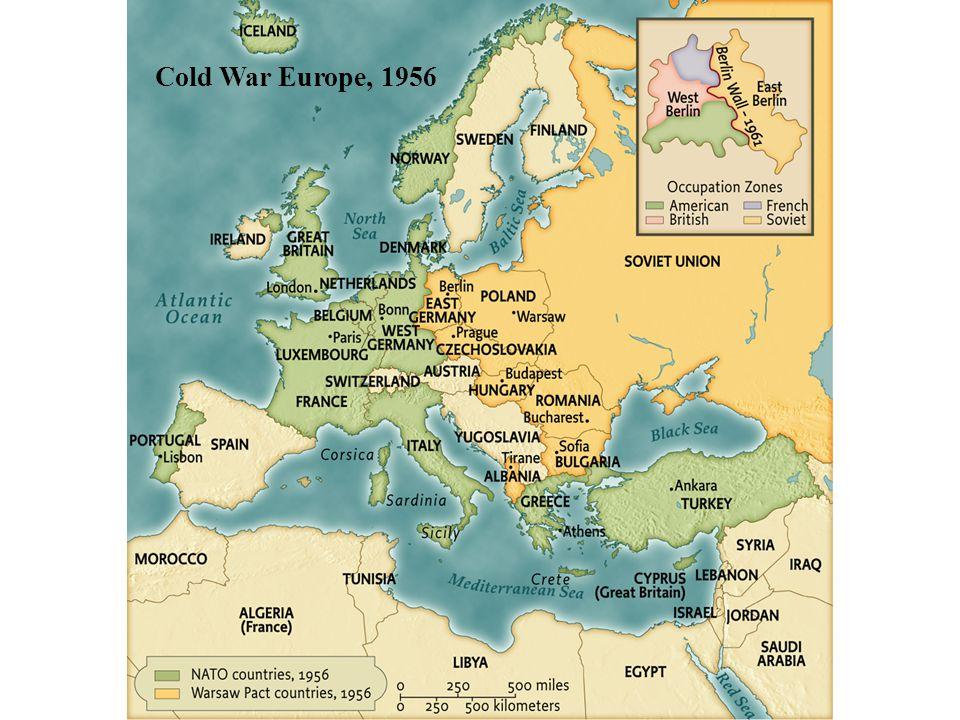 Cold War Europe, 1956 pg. 902 Cold War Europe, 1956