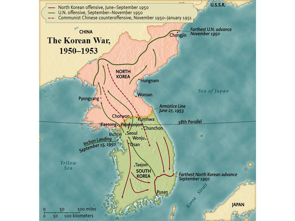 The Korean War, 1950–1953 pg. 904 The Korean War, 1950–1953