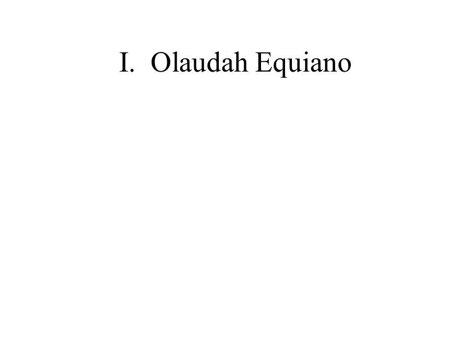 I.Olaudah Equiano
