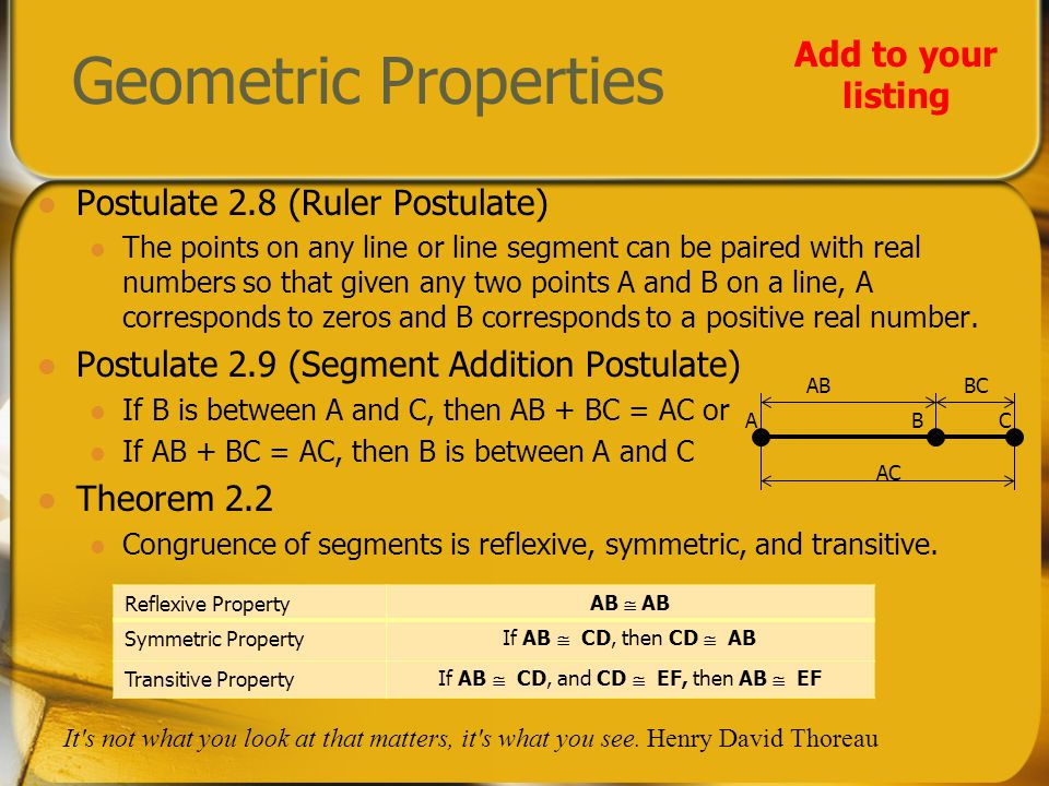 Use paper to solve Given BC = DE Prove AB + DE = AC Statements Reasons 1.