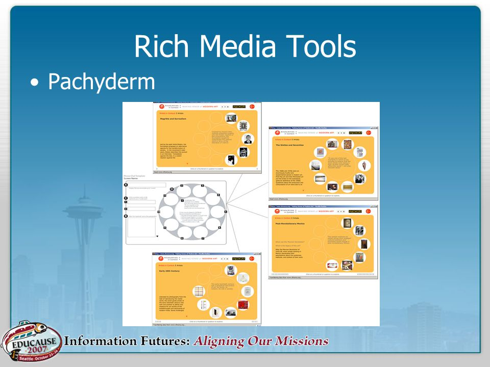 Rich Media Tools Pachyderm