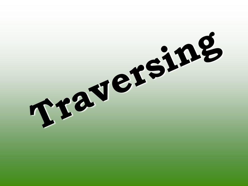 Traversing