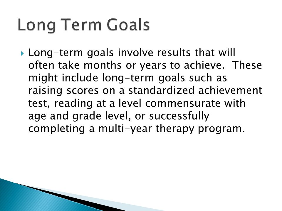  This part of the goal refers to the condition under which the performance is to be done.