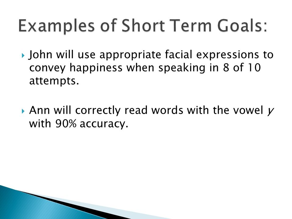  A criterion of 90% is usually used in speech language therapy.