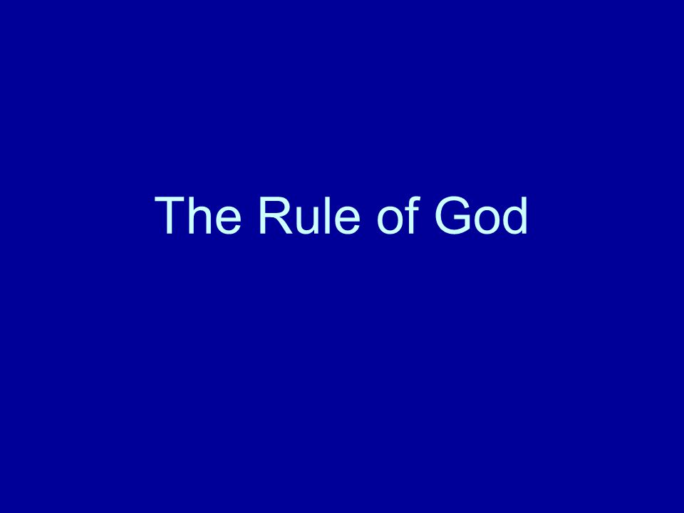 Key Elements The Kingdom is the central theme of Jesus preaching and teaching Rule of God is more appropriate for us.