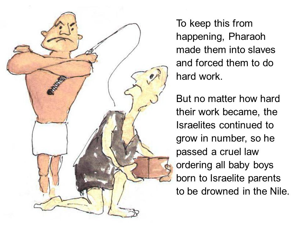 It happened that a baby boy was born to an Israelite family.