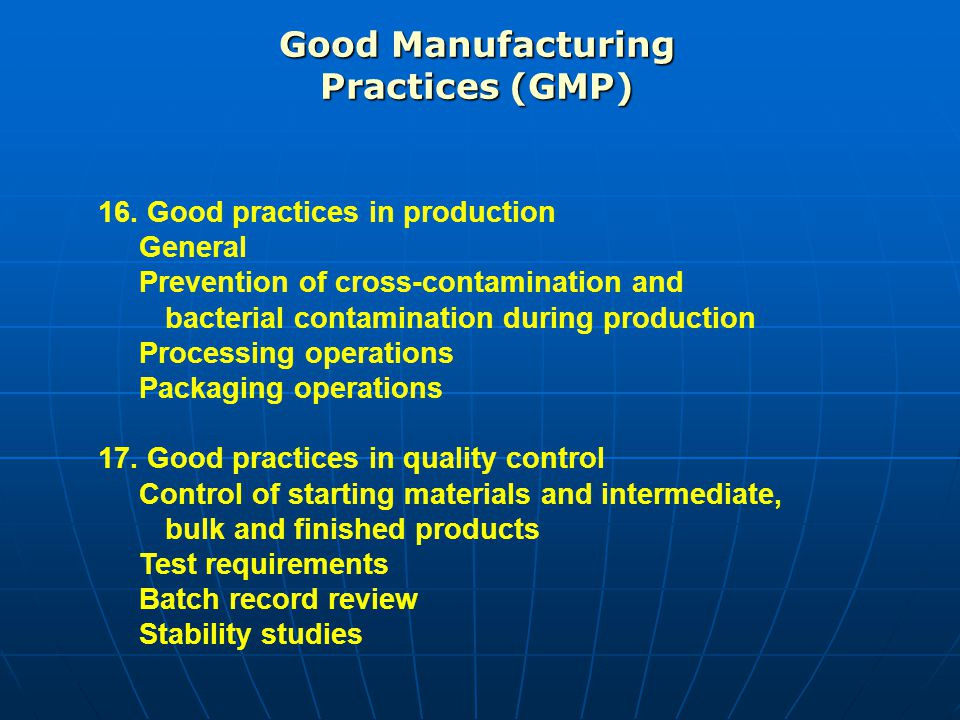 Documentation review Inspection of the quality control laboratory…