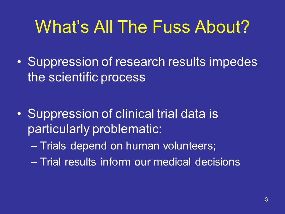 Common Myths about ClinicalTrials.gov Grantees do not need to register NIH-funded trials because NIH automatically registers all studies that it funds. FALSE.