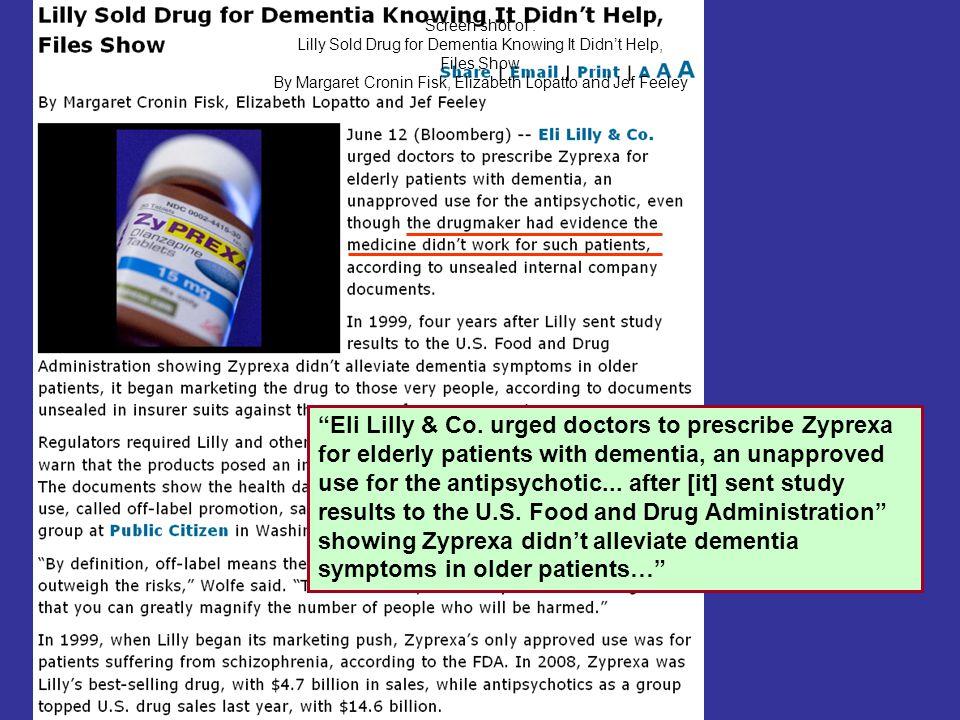 26 Screen shot highlighting U.S. FDA Resources